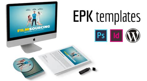 electronic press kit template free filmmaking production documents