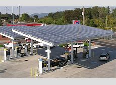 Oil company announces installation of solar panels at