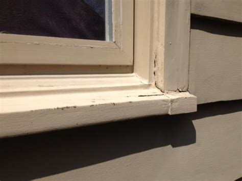 Replace Window Sill Outside repair or replace notched window sills doityourself