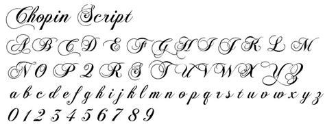 Style Ecriture Alphabet