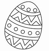 Coloring Easter Egg Pages Eggrolls Template sketch template