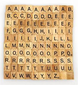 wooden scrabble tiles custom letters set for jewelry With scrabble letter size