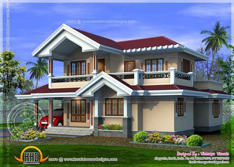 kerala style villa plan   square feet home kerala
