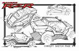 Rzr Polaris Pages Sketches Coloring Utv Ideation Clip Concept Coroflot Template Renderings Sketch Coincide Folder sketch template