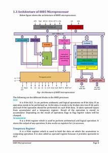 8085 Microprocessor Architecture And Pin Description