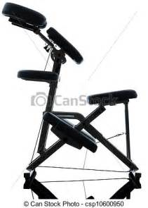 Chair Massage Therapy Clip Art