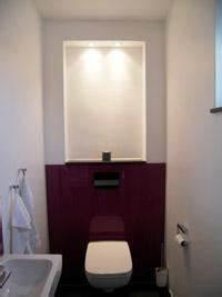 Dekoration Gäste Wc : design gaeste wc nische beleuchtet nottuln mit frisch dekoration offene wohnkuche mit wohnzimmer ~ Buech-reservation.com Haus und Dekorationen