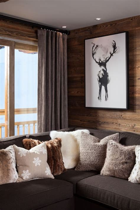Log Cabin Style Meets Ethnic Modern Interior Design by Pin By Pam Carpenter On Log Cabin In 2019 Chalet