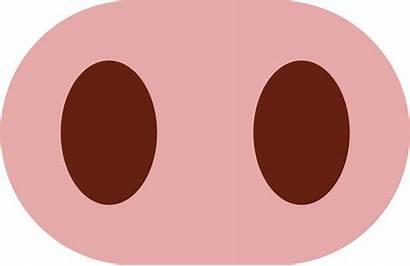 Pig Nose Clip Clipart Emoji Nariz Bbq