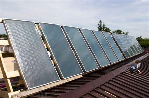 Солнечные устройства и установки для систем теплоснабжения
