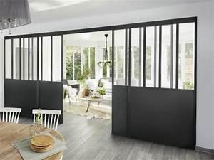 verriere d39interieur 8 integrations reussies With ordinary meuble pour separer cuisine salon 3 fenetre dans cloison placo