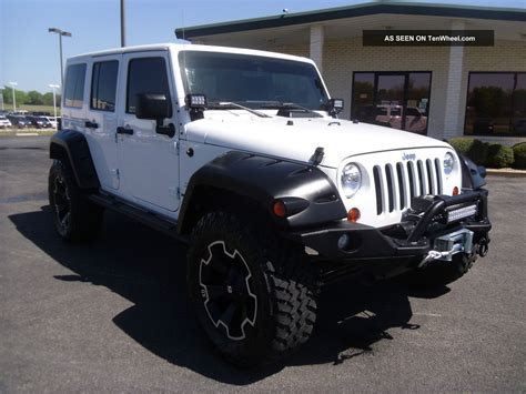 white jeep unlimited lifted jeep wrangler unlimited lifted image 34