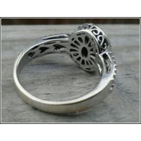 stamp  vintage engagement ring
