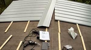 Prix d'une toiture bac acier Coût moyen & Tarif d'installation