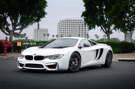 McLaren and BMW had a baby together