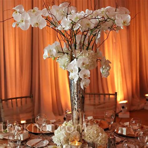 White Orchid Centerpieces