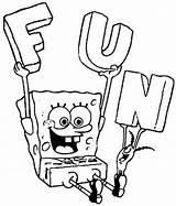 Spongebob Coloring Pages Printable Bestappsforkids Children sketch template