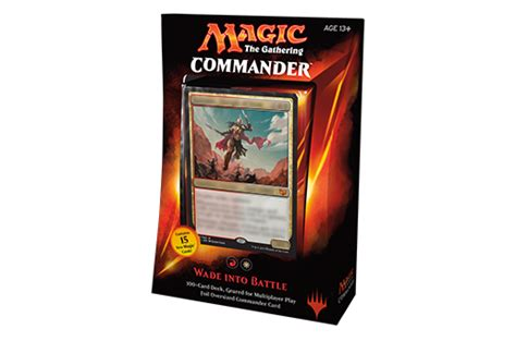 goblin commander deck 2015 commander 2015 deck names and packaging
