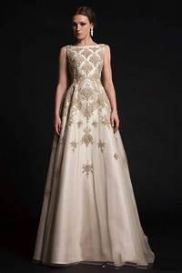 2016 luxury evening dress newest crew a line court train With robe de soirée avec cape