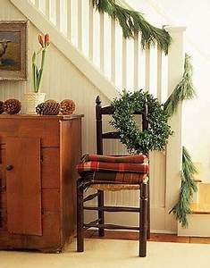 Holiday Christmas Decor Ideas Chairs Country House