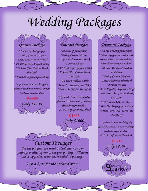 affordable wedding photography packages bay  quinte