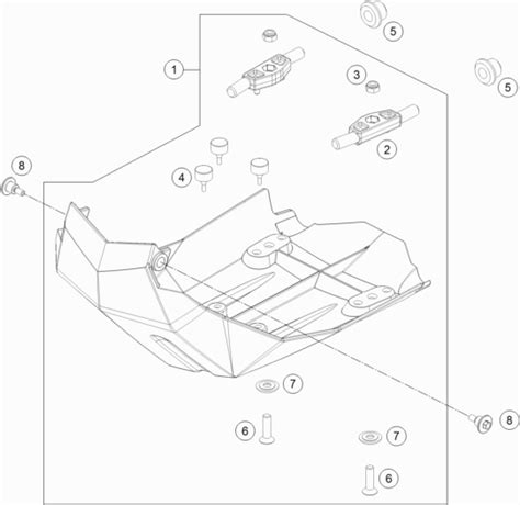 Ktm 690 Enduro R Wiring Diagram by Ktm Newcastle 690 Enduro R Abs 2014 Engine Guard