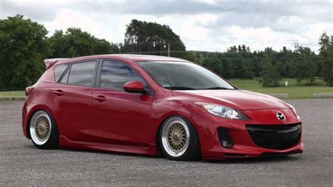 bagged  mazda  youtube