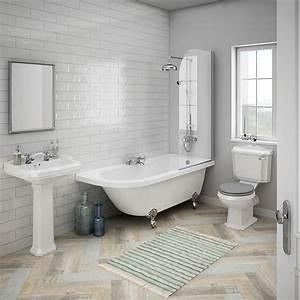 Appleby rh traditional bathroom suite victorian plumbing uk for Bathroom portraits