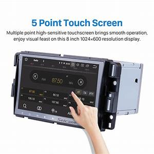 8 Inch Hd Touchscreen Android 10 0 Aftermarket Radio Head