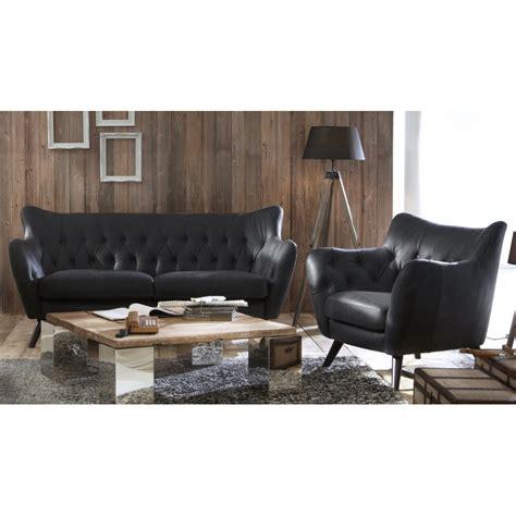 canapé cuir noir but canapé en cuir vintage pq65 jornalagora