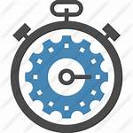Icon Process Processing Icons Optimization Stopwatch Timer
