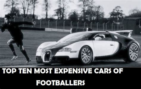 Top 10 Most Expensive Cars Of Footballers