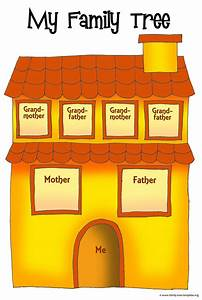 Fun family tree house for children. | genealogy ...