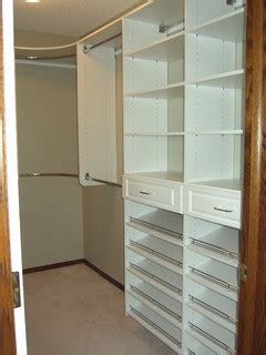 Closet Tower With Drawers by Master Bedroom Closet With Shoe Shelving On Drawer Towers