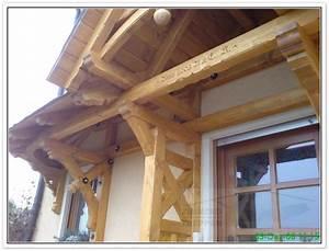 Walmdach  Vordach Holz  Carport  Rustikale Sitzm U00f6bel