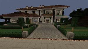 White mansion/house -World Schematic Minecraft Project