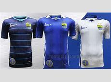 Persib Bandung 2015 League Home, Away and Third Kits