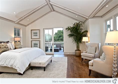 4 Stylish Homes With Slanted Ceilings : 15 Charismatic Sloped Ceiling Bedrooms