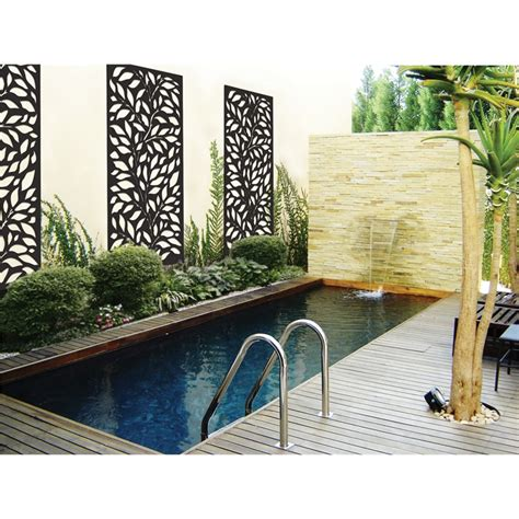 matrix 1800 x 900 x 7mm charcoal jungle d 233 cor screen panel