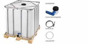 Robinet Pour Récupérateur D Eau : citerne r cup ration d eau 1000 litres sur palette en bois ~ Dailycaller-alerts.com Idées de Décoration