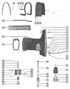 Mercury Marine Model 500  50 Hp Drive Shaft Housing Assembly Parts