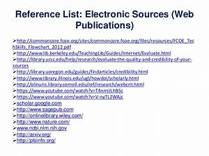 sources for papers