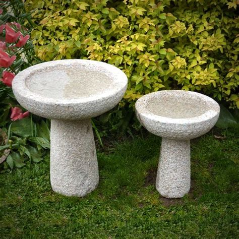 granite bird baths