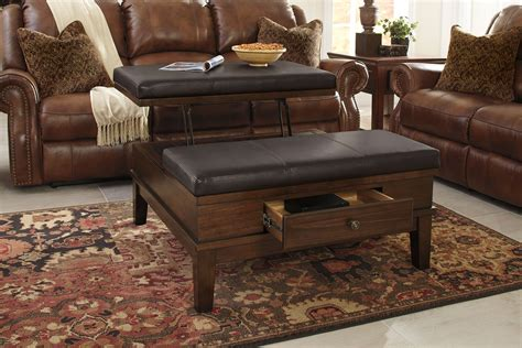 gately coffee table with lift top gately ottoman coffee table with lift top the brick
