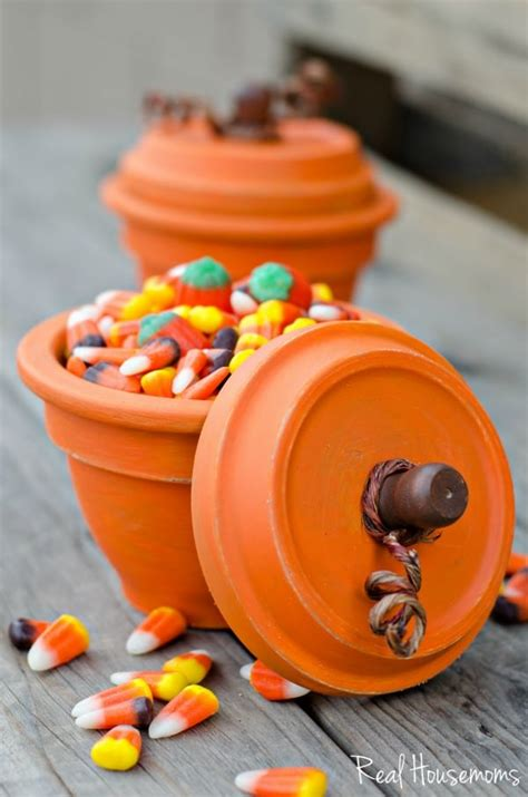 diy pumpkin terracotta pots real housemoms