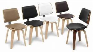 Chaise design mobiliermoss style scandinave en for Deco cuisine avec chaise contemporaine design