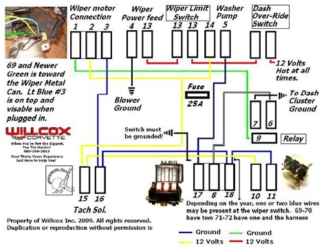Windshield Wiper Wiring Diagram 69 Torino by Wipers Will Not Turn When Ignition Is On