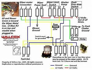 Nova Wiper Motor Wiring Diagram