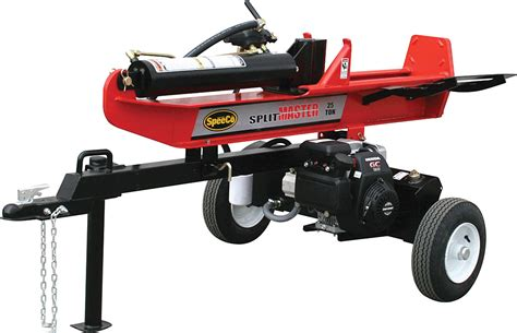 speeco 25 ton light commercial log splitter 25 ton horizontal vertical log splitter princess auto