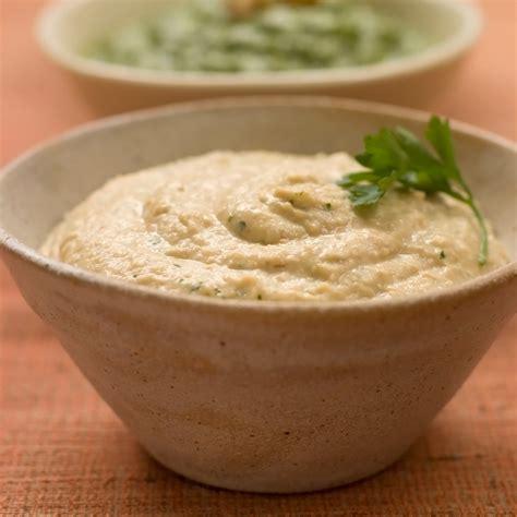 recette de cuisine plat houmous à la coriandre facile rapide et pas cher